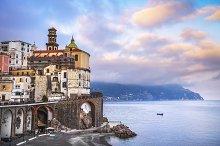 Atrani town in Amalfi coast, Italy