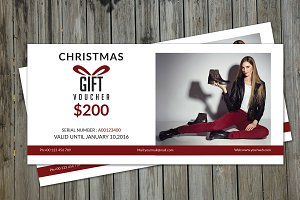Fashion Gift Voucher Template-V02