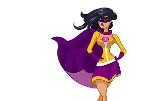 Woman super hero