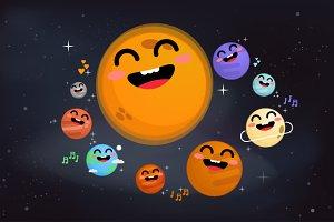 Solar system set