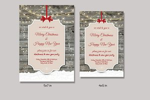 Christmas Invitation Flyer-V151