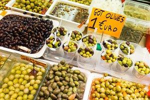 Olives market