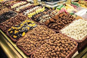 Candy shop market