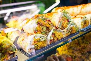 Kebab stall