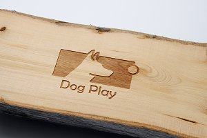 Dog Play Logo Template