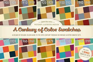 A Century of Color Swatches + Bonus