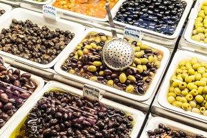 Olives shop