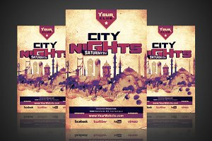 City Nights - Flyer