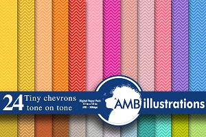 Chevron digital papers AMB-312