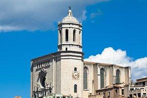 Girona sunny day