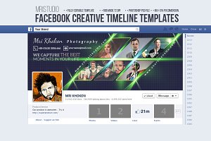 Facebook Creative Timeline Cover