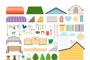 House elements.