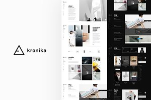 kronika | PSD Shop Template