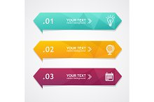 Paper Triangle Templates Banner