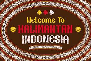 Kalimantan Typeface