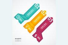 Infographics Options Banner. Vector