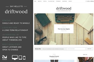Driftwood - Wordpress Blog Theme
