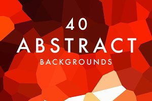 (SALE) 40 Abstract Backgrounds