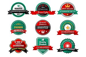 Flat quality guarantee labels