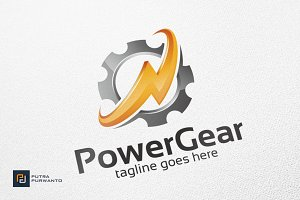 Power Gear / Industrial - Logo