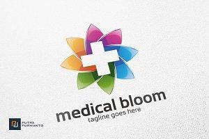 Medical / Cross / Flower - Logo