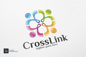Cross / People / Medical - Logo