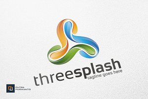Splash / Triangle - Logo Template