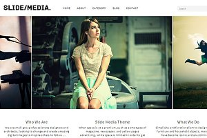 SlideMedia WordPress Theme Responsiv