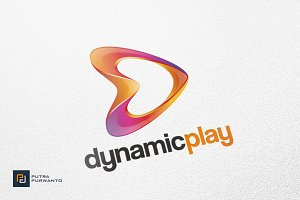 Play / D Letter - Logo Template