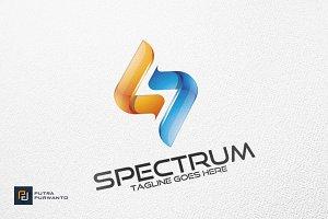 Spectrum / S letter - Logo Template
