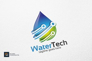 Water Tech - Logo Template