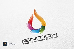 Ignition / Fire - Logo Template