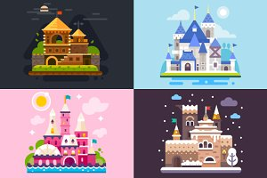Four Awesome Fairytale Castles!