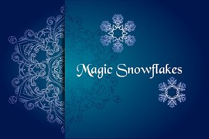 №62 Magic snowflakes