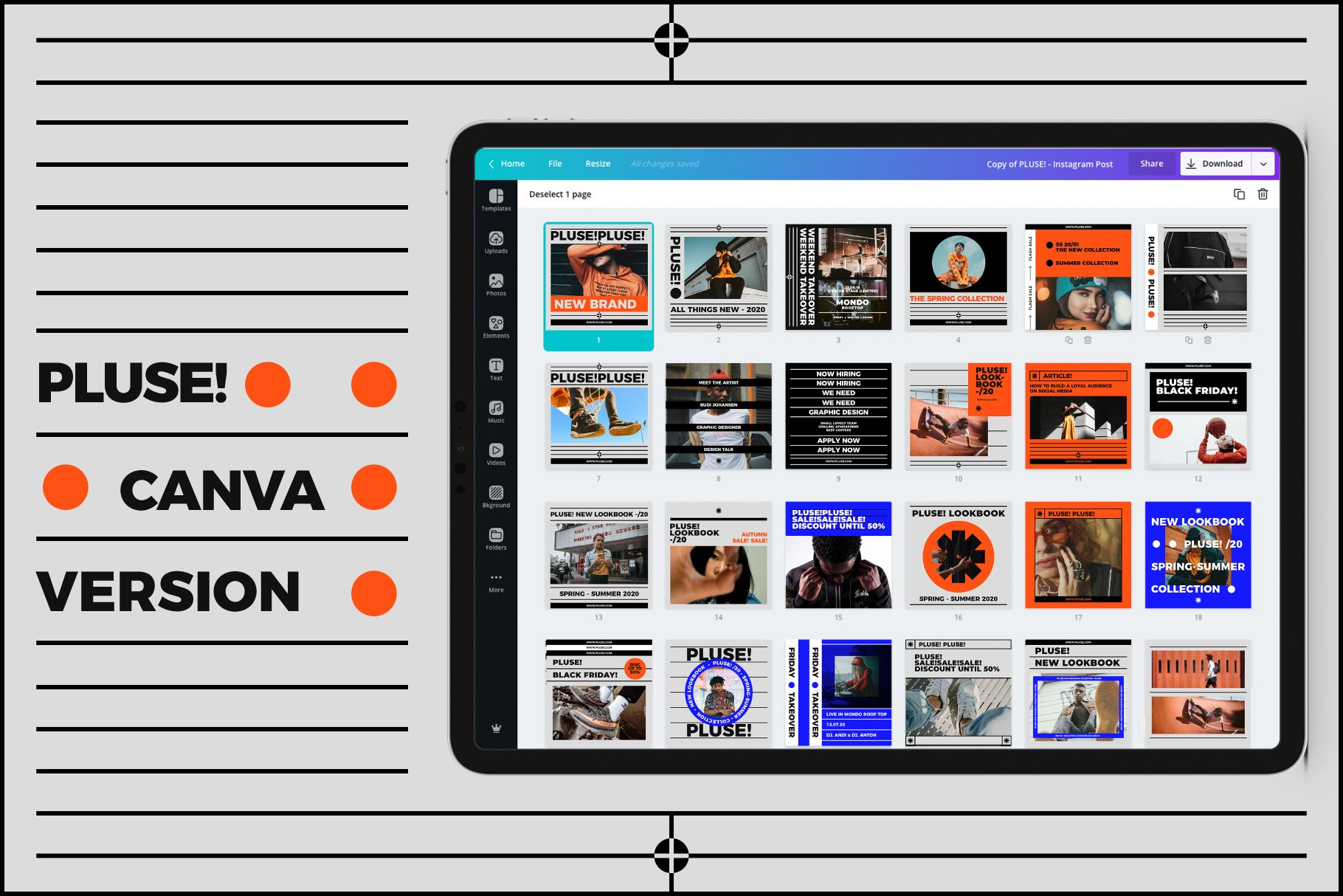 pluse! preview marketplace creative market 16 6