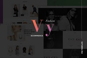 Vy – Multi eCommerce PSD Template