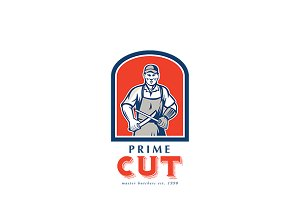 Prime Cut Master Butchers Logo