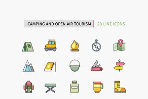 Camping Equipment, Open Air Tourism