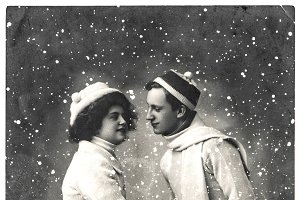 Vintage Christmas picture