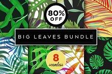 8 Best Botanical Leaves Patterns Set