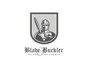 Blade Buckler Grill Alehouse Logo