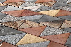 Rhombus pavement