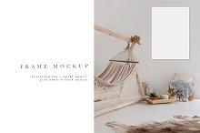 Frame Mockup #711 | Boho
