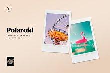 Polaroid Snapshot Picture Templates