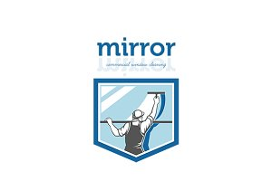 Mirror Commercial Window Cleaning Lo