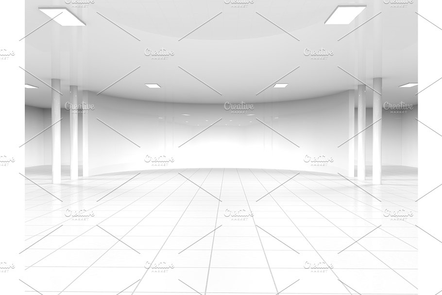 Admirable White Empty Showroom Space Download Free Architecture Designs Scobabritishbridgeorg