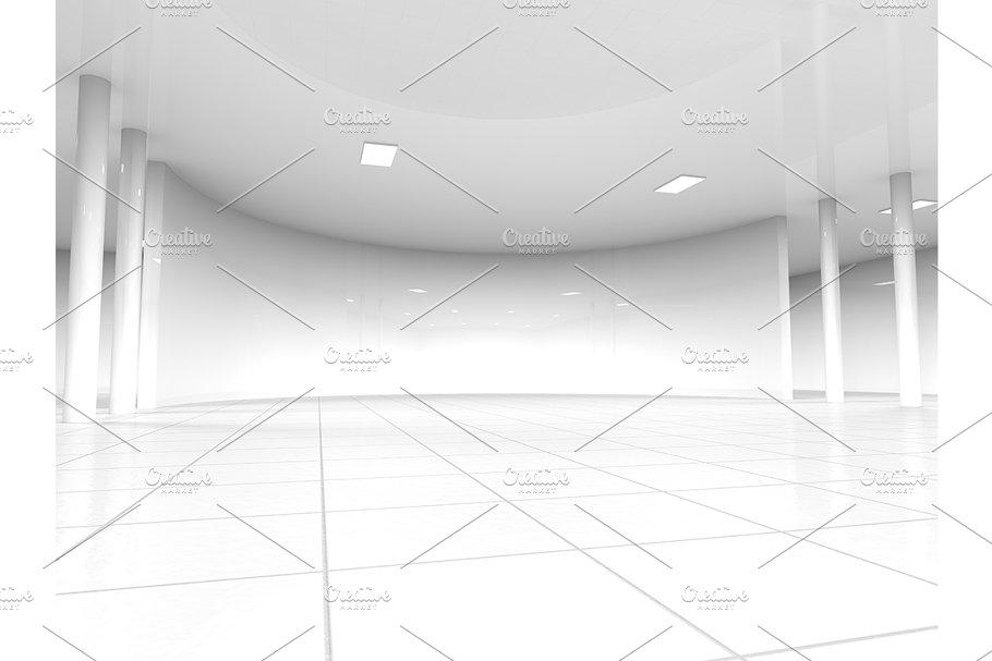Astonishing White Empty Showroom Space Download Free Architecture Designs Scobabritishbridgeorg