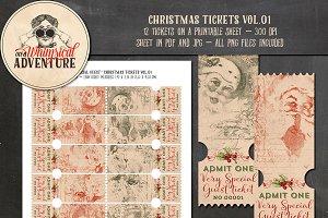Christmas Tickets Vol.01