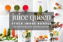 JUICE & SMOOTHIE stock image bundle