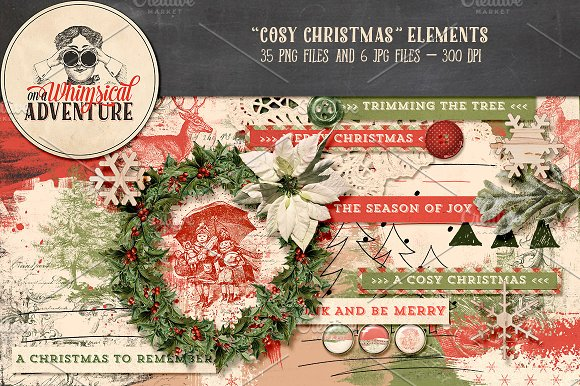Cosy Christmas Elements